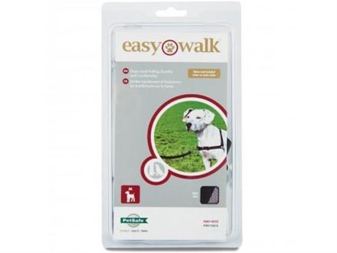 EASY WALK רתמת גוף לכלב מידה M/L צבע  תכלת