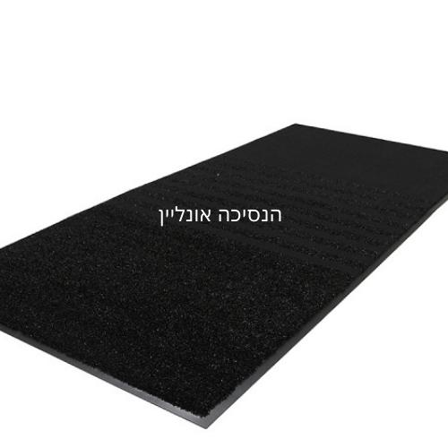 שטיח כניסה לבניין דגם - מנהטן שחור