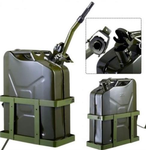 מתקן תלייה מתכת  לגריקן צבאי 10 ליטר עם מקום למנעול