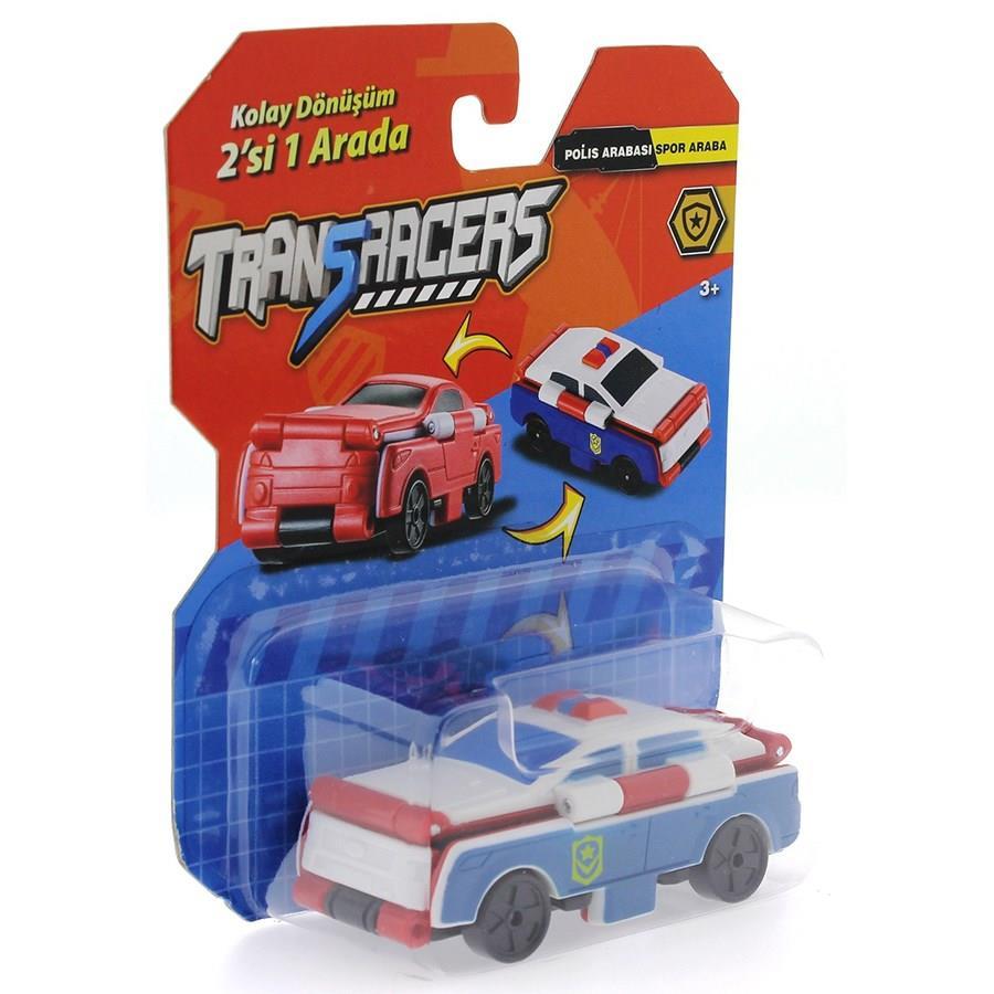 טרנסרייסר- 2 ב-1 רכב משטרה ורכב ספורט
