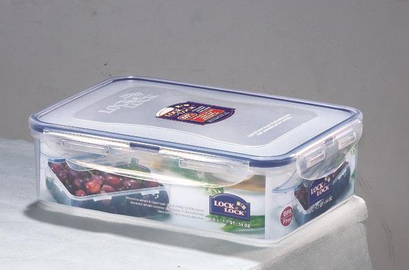 קופסאת אחסון 1.6 ליטר  דגם 825 LOCK&LOCK