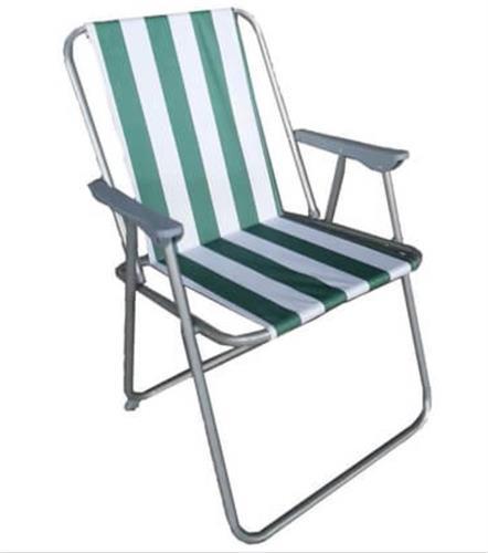 כיסא  ים  פיקניק  קמפינג  מתקפל קל ''קיסריה'' מבית CAMPTOWN פסים צבעוני 1867