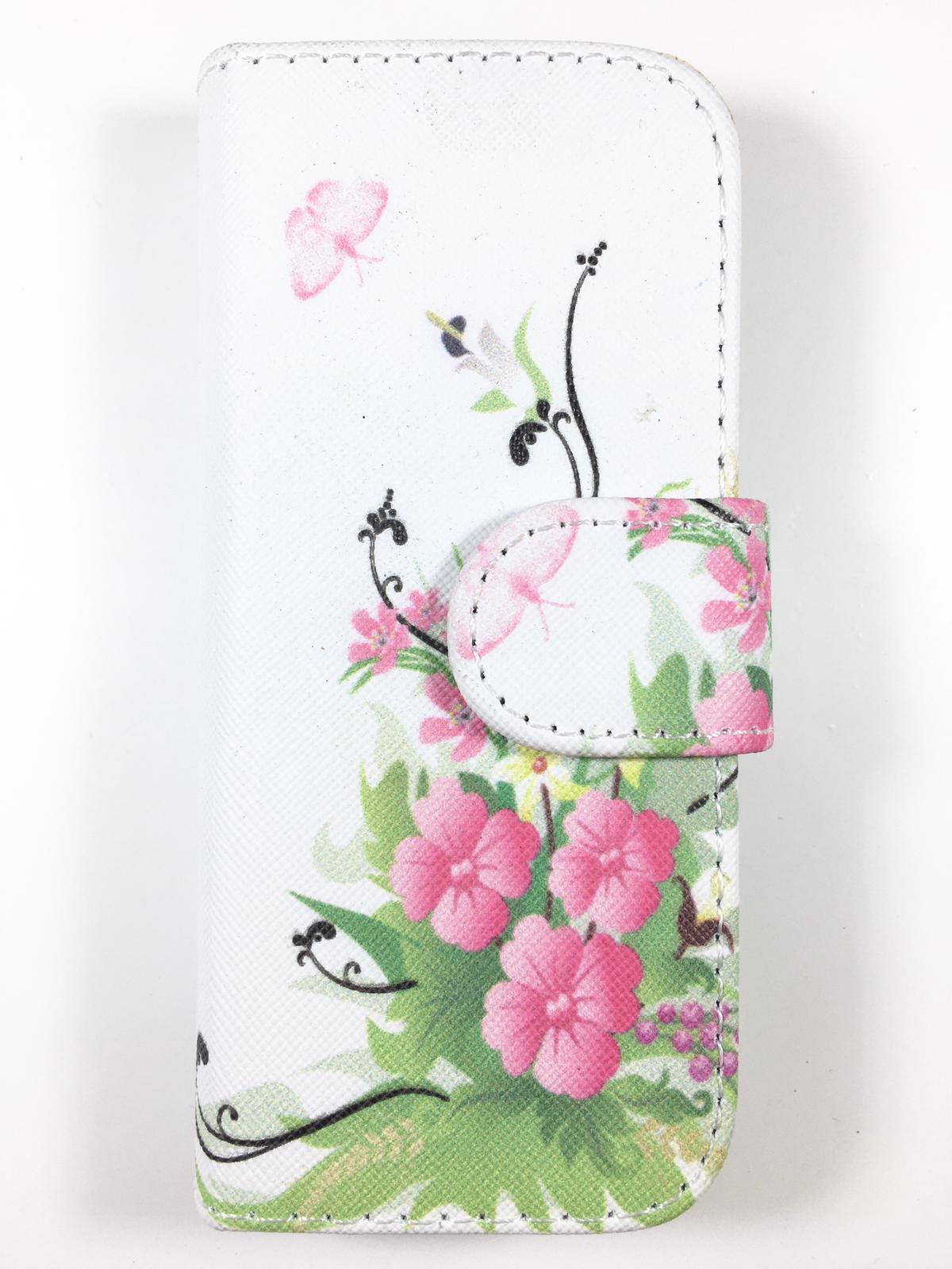 מגן ספר לK34 KOSHER MOBILE דגם פרחים