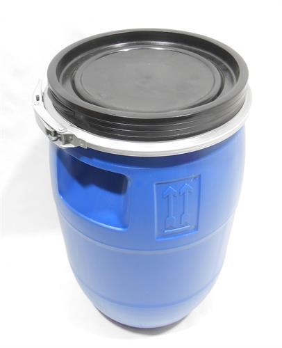 חבית מים 30 ליטר צבע כחול  מתאים לייצור חמוצים שמן זית יין ועוד מתאים גם בתור כיסא