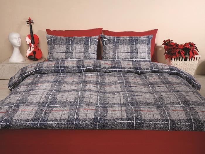מצעים למיטת יחיד 100% כותנה - פריד דגם אדריאן