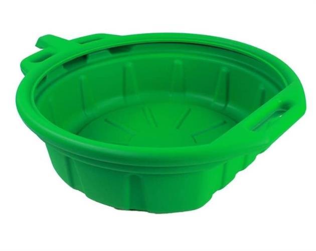 אמבטיה לריקון וקליטת שמן או נוזלים  צבע ירוק 15 ליטר