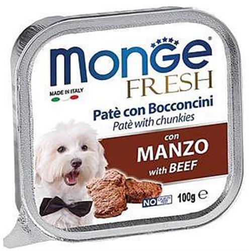 MonGe פרש פטה 100 גר נתחי בקר