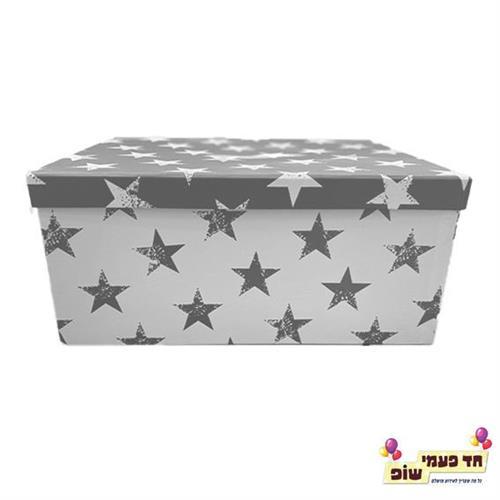 קופסא כוכבים כסף מידה 8