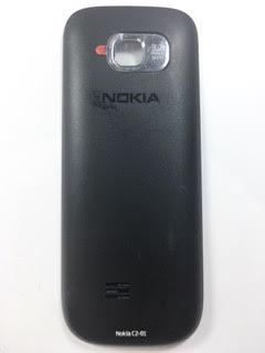 גב/מכסה אחורי לנוקיה NOKIA C2 בצבע שחור
