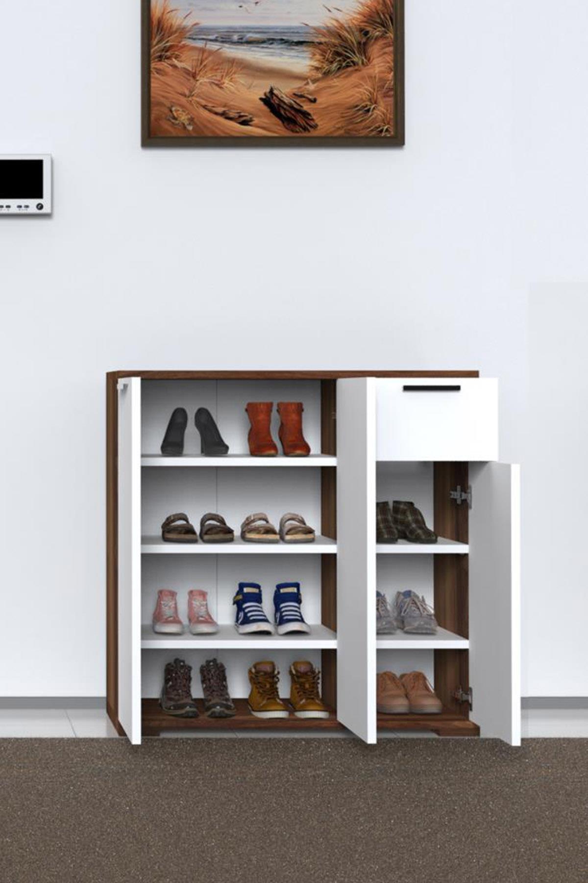 ארון נעלים 3 דלתות דגם END-1
