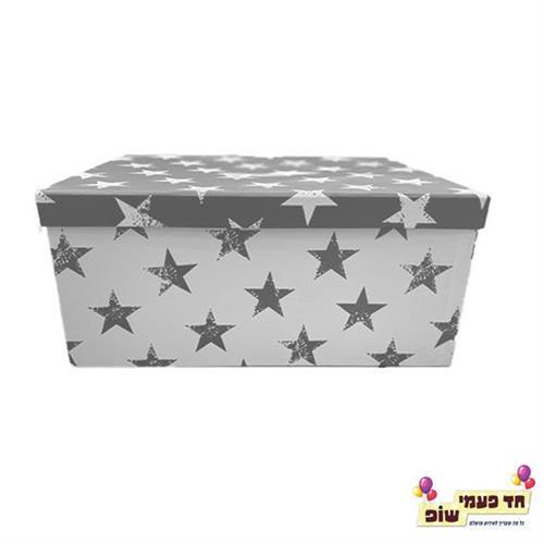 קופסא כוכבים כסף מידה 7