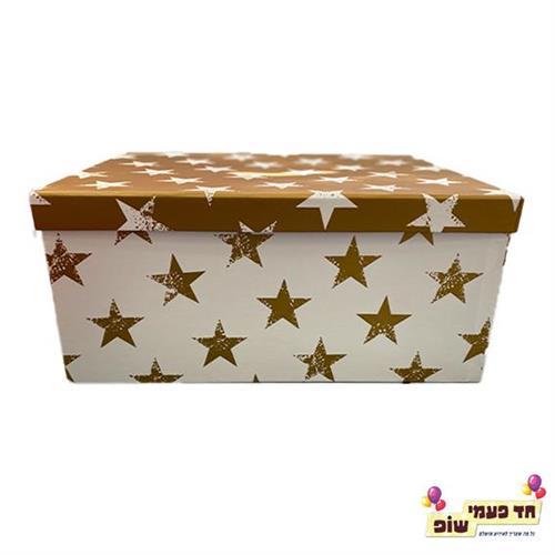 קופסא כוכבים זהב מידה 8