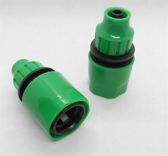 חיבור מהיר לצינור גינה  צינור קוטר פנימי כ 9 ממ כניסת כינור קוטר חיצוני כ 11.5 ממ