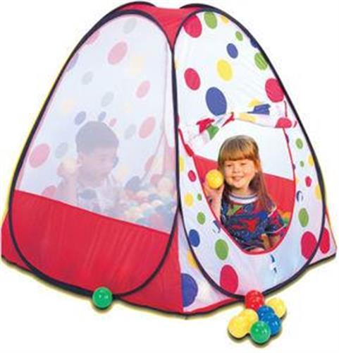 אוהל כדורים כולל 100 כדורים