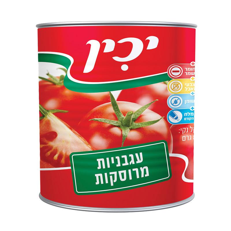 יכין עגבניות מרוסקות 800 גרם - 3 יחידות