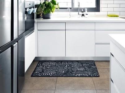 שטיח מטבח איכותי בתוספת גומי בתחתית דגם - 13 (מתנקה בקלות!)