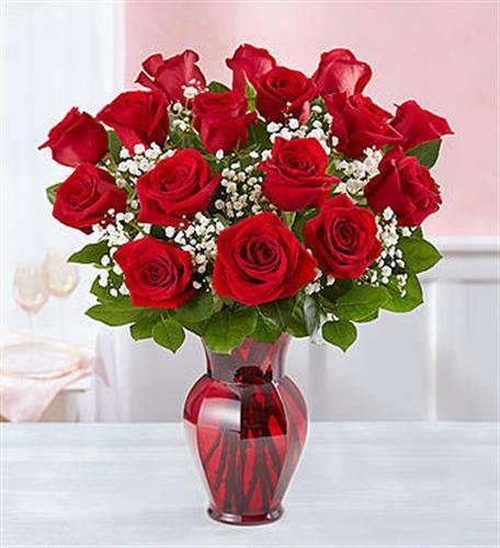 ורדים אדומים תשוקה רומנטית