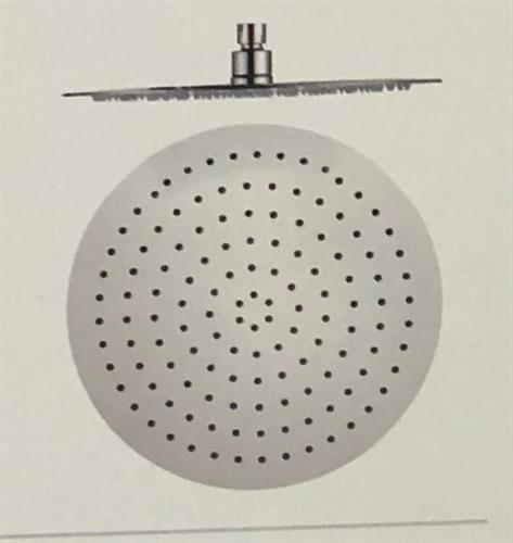 ראש מקלחת נירוסטה, קליר חמת