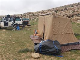 אוהל שטח מצבעי טקטי קמפינג לייף