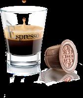 12 מארזים [120 קפסולות 1.2₪ ליח'] קפה אספרסו INTENSO [אפור] עוצמתי (תואמות Nespresso)