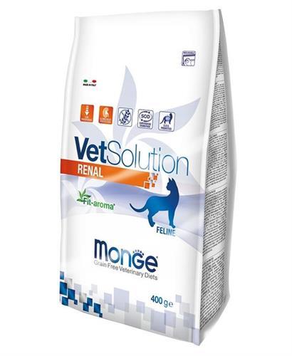 """8009470081658 מזון יבש רפואי לחתולים עם בעיות כליה 1.5 ק""""ג Monge"""