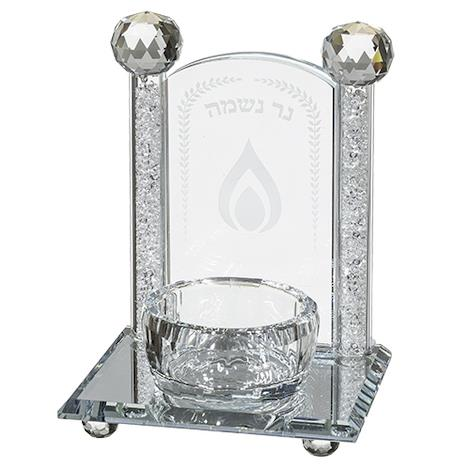 Хрустальная подставка под свечу для возвышения души
