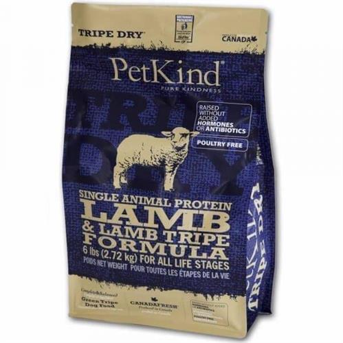 """פט קיינד סינגל - כבש ללא דגנים על בסיס קירשה - לכלבים בכל גיל מגזע קטן 2.7 ק""""ג"""