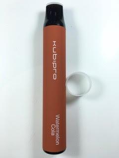 סיגריה אלקטרונית חד פעמית כ 2000 שאיפות Kubipro Disposable 20mg בטעם אבטיח קולה Watermelon Cola