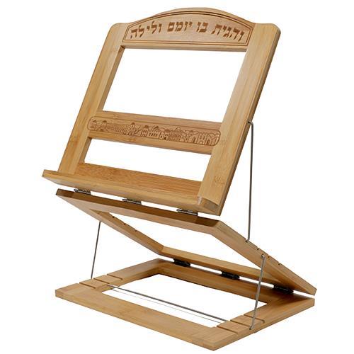 """שטנדר מהודר מעץ במבוק 3 קומות """"ירושלים"""" 30X33 ס"""