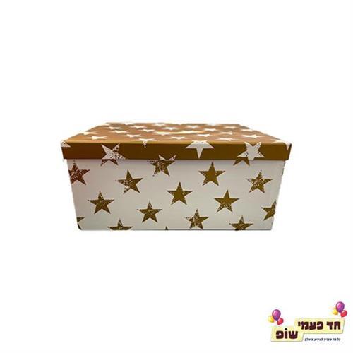קופסא כוכבים זהב מידה 4