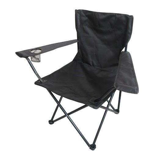 כיסא  במאים  צבע שחור קמפינג קל ''הכרם''