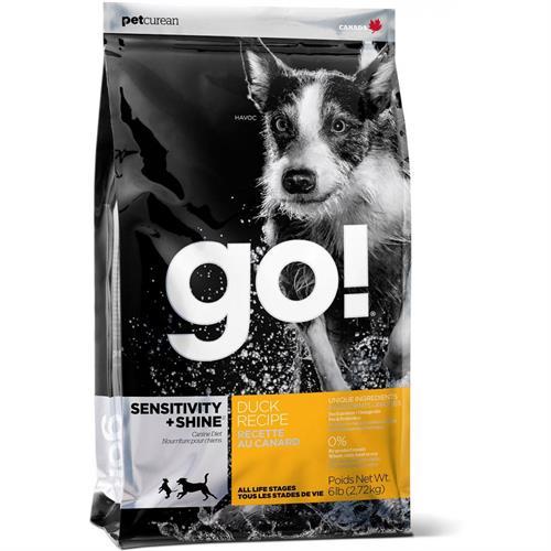 """815260000956 מזון יבש לכלבים בכל גילאים עם אלרגיות 11.36 ק""""ג GO!"""