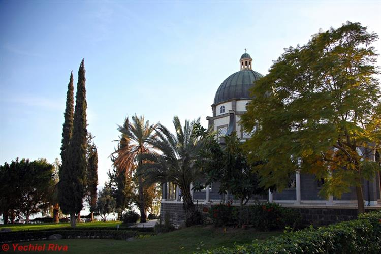 Support Israel and get this picture: Church of the Beatitudes