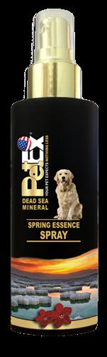 בושם לכלב 100 מ״ל מועשר במינרלים מים המלח בניחוח אביב מלבב של פטקס