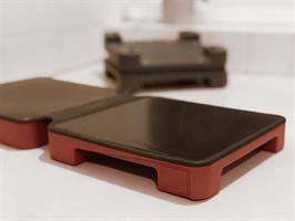 HotMat 2DISH CONNECT - RUSTIC RED