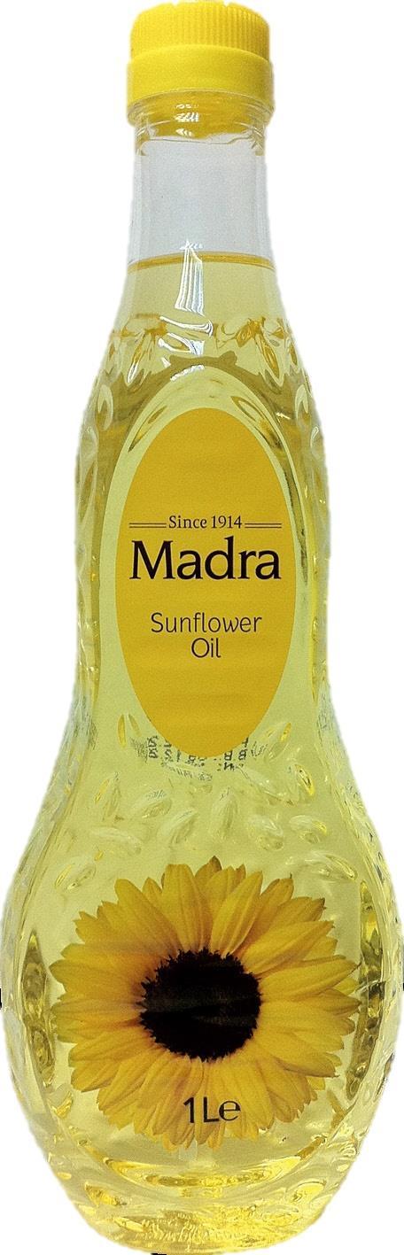 שמן MADRA חמניות 1 ליטר