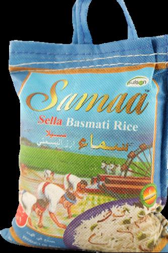 """אורז בסמטי 1ק""""ג סמאא שקית כחול"""