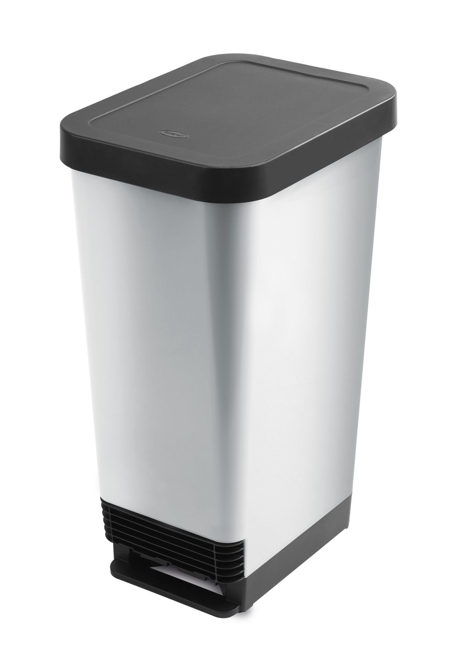 פח אשפה למטבח 40 ליטר - Curver דגם Deco Bin Slim