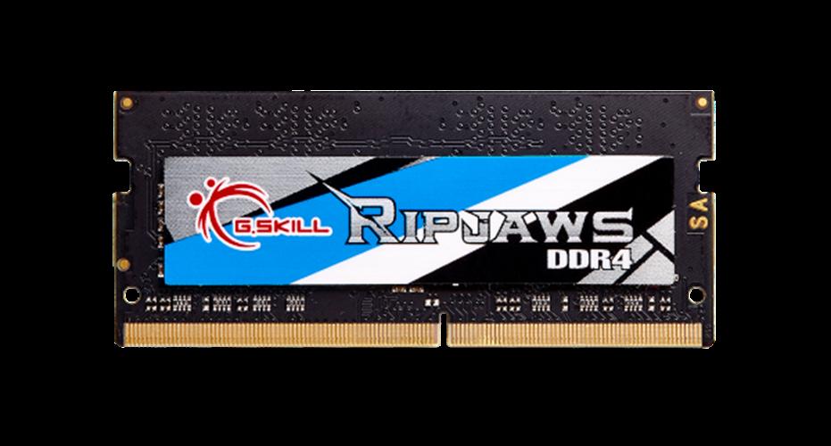 זכרון למחשב נייד G.skill DDR4 4GB SODIM 2400MHZ CL16 1.2V Ripjaws