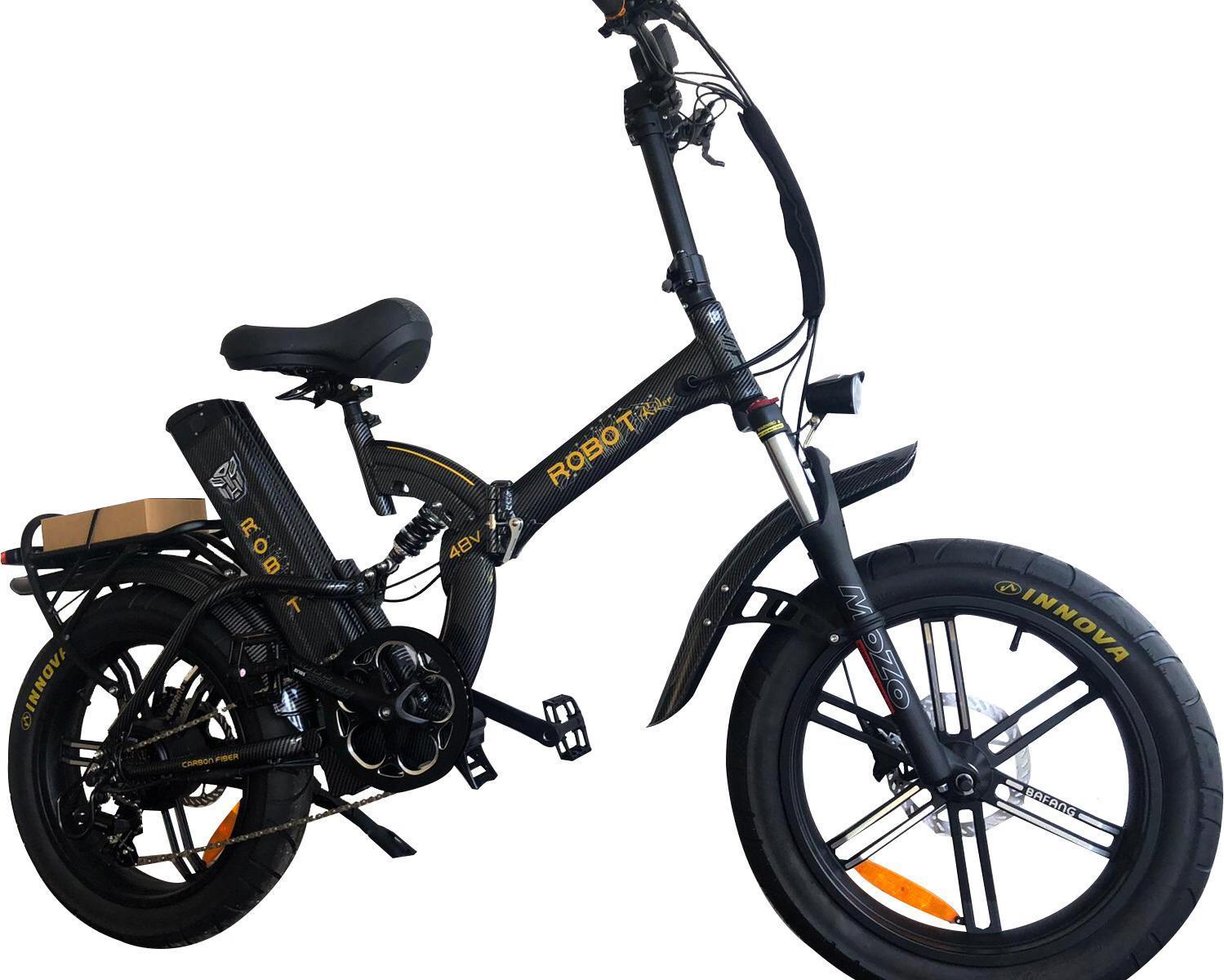 אופניים חשמליות גלגלים גדולים