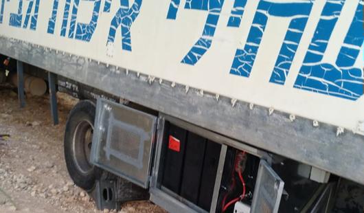 פרוייקט מערכת סולארית למשאית מגורים בפני קדם