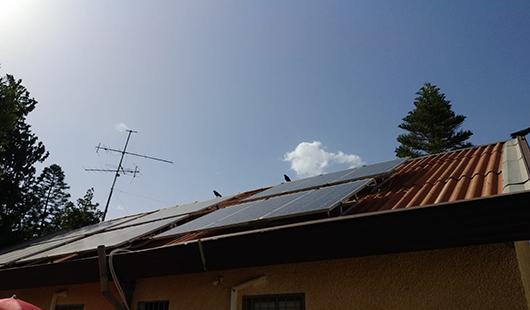 מערכת סולארית עצמאית לבית פרטי בעמנואל