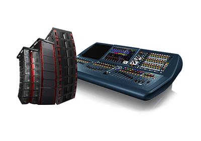 אודיו מקצועי לבמה Professional Audio - Tourin
